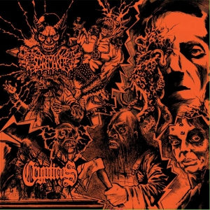 CRYPTICUS / SCAREMAKER - Split - CD