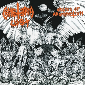 CEMETERY LUST - Orgies of Abomination - CD