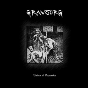 GRAVSORG - Visions of Depression - CD