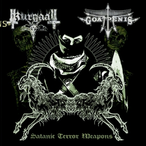 GOATPENIS / KURGAALL - Satanic Terror Weapons - CD