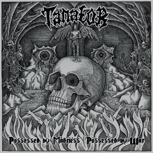 TANATOR - Possessed by Madness, Possessed by War - CD