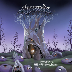 AGGRESSOR - Procreate the Petrifactions - CD