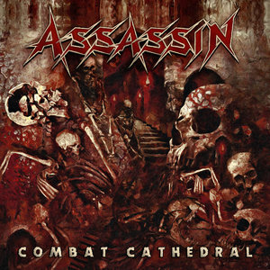 "ASSASSIN - Combat Cathedral - 12""LP (RED) / CD"