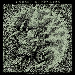 CANCER SPREADING - Ghastly Visions - CD