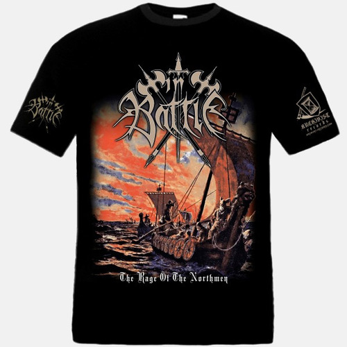 IN BATTLE - The Rage Of The Northmen - T-SHIRT