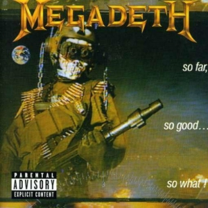 MEGADETH - So Far, So Good... So What! - CD