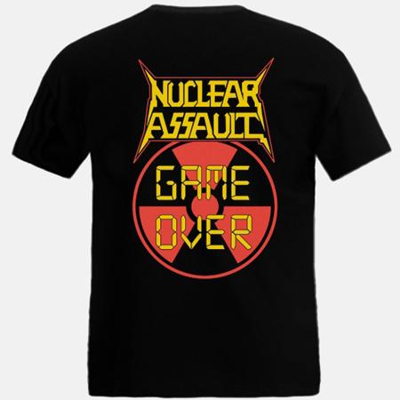 NUCLEAR ASSAULT - Game Over - T-SHIRT