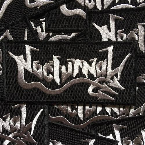 Image of: Entry Nocturnal Logo Dreamstimecom Archaic Sound Nocturnal Silver Logo Patch