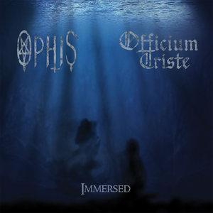 OFFICIUM TRISTE / OPHIS - Immersed - 12''LP PRE-ORDER (TRANSPARENT BLUE/WHITE SPLATTER)