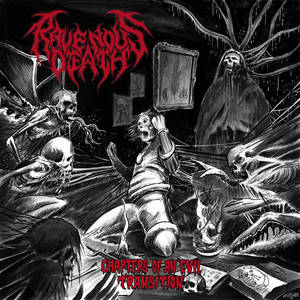 RAVENOUS DEATH - Chapters of an Evil Transition - CD