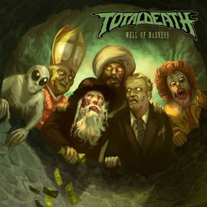 TOTAL DEATH - Well Of Madness - CD