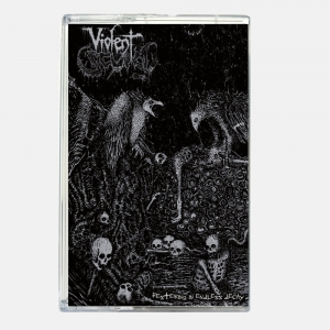 VIOLENT SCUM - Festering in Endless Decay - TAPE