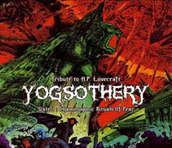 YOGSOTHERY - YOGSOTHERY (TRIBUTE TO H.P. LOVECRAFT) PT. 1'' - CD